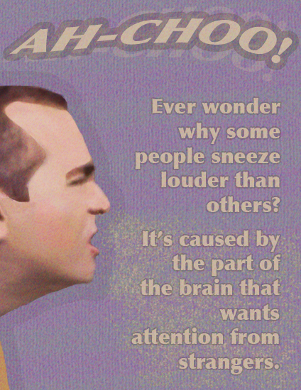 Ever Wonder Why Some People Sneeze Louder Than Others?